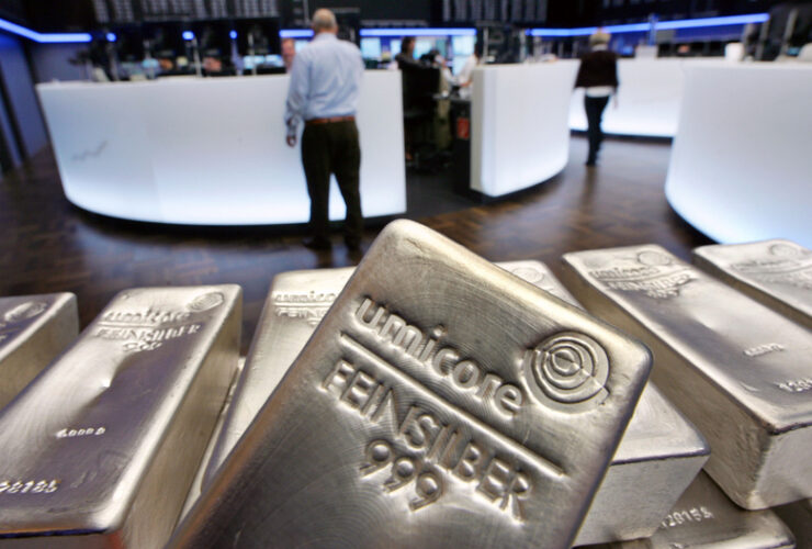 trading silver commodities